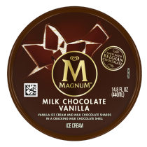 PNG - Magnum Ice Cream Milk Chocolate Vanilla 14.8 oz