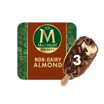 Magnum Non-Dairy Almond Bar Front of Pack