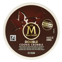 Double Cookie Crumble Ice Cream Tub Back of Pack