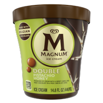 PNG - Magnum Ice Cream Double Pistachio Honey Made with Belgian Chocolate 14