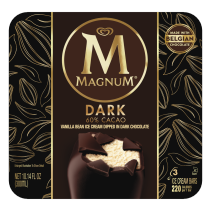 Dark Chocolate Ice Cream Bar | Magnum
