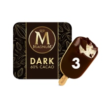 PNG - Magnum Ice Cream Bars Dark 3 ct
