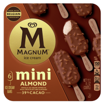 PNG - Magnum Mini Ice Cream Bars For a Delicious Ice Cream Treat Almond Made