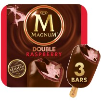 PNG - Magnum Ice Cream Double Raspberry 3 PC