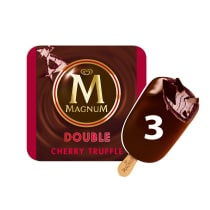 PNG - Magnum Ice Cream Double Cherry Truffle 3 PC