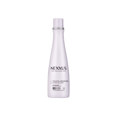 Front of shampoo pack Nexxus Shampoo Youth Renewal 250ml