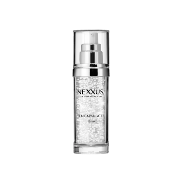 Front of treatment pack Nexxus humectress encapsulate serum for normal to dry hair 60ml