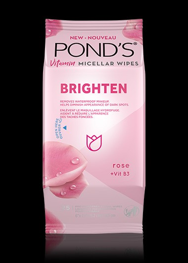 POND'S® Brighten Micellar Facial Wipes
