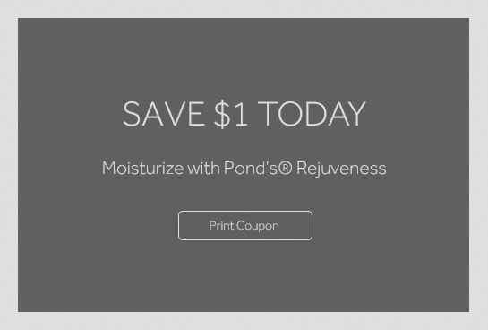 $1.00 OFF any ONE (1) Pond's® Rejuveness or Clarant B3 Product (excluding trial and travel)
