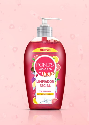Limpiador facial ponds by yuya