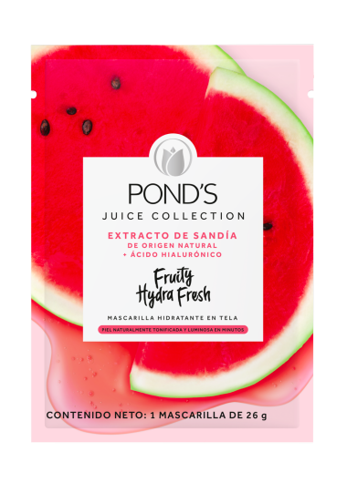 Fruity Hydra Fresh mascarilla en tela