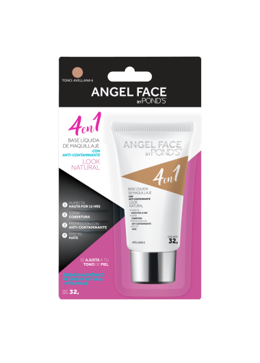 PNG - BASE LIQUIDA POND´S ANGEL FACE TONO AVELLANA 6
