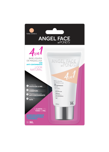 PNG - BASE LIQUIDA POND´S ANGEL FACE TONO AVENA 2