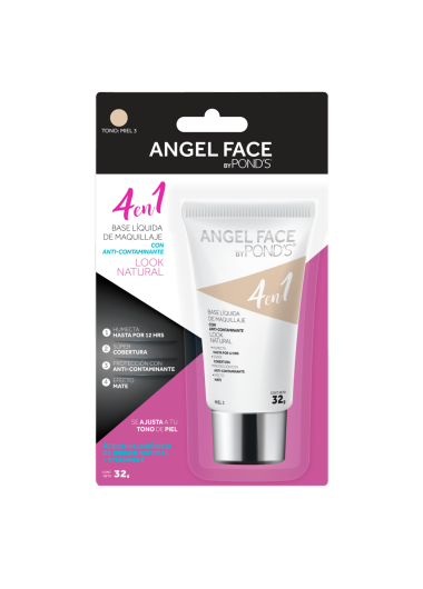 PNG - BASE LIQUIDA POND´S ANGEL FACE TONO MIEL 3