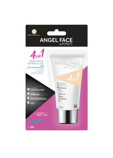 PNG - BASE LIQUIDA POND´S ANGEL FACE TONO VAINILLA 1