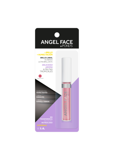 PNG - BRILLO LABIAL POND´S ANGEL FACE TONO FLAWLESS ROSE