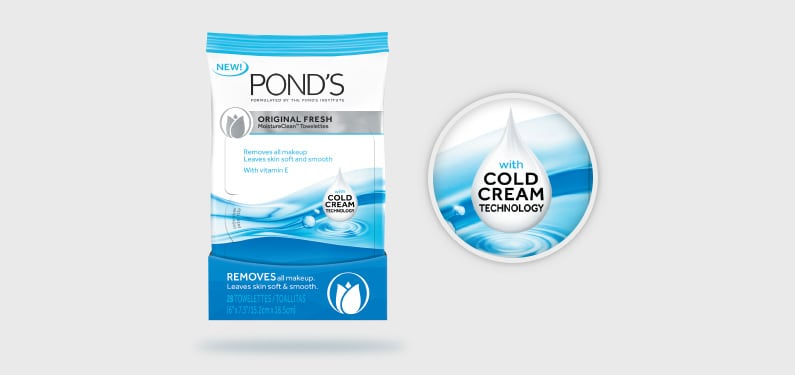 POND'S® Towelettes Got A Makeover!