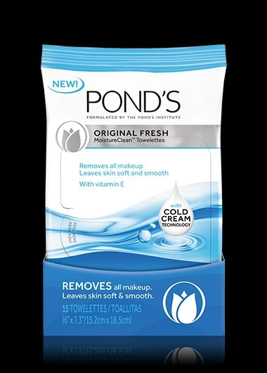 POND'S® Original Fresh MoistureClean™ Towelettes