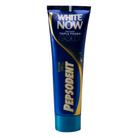pepsodent white now gold