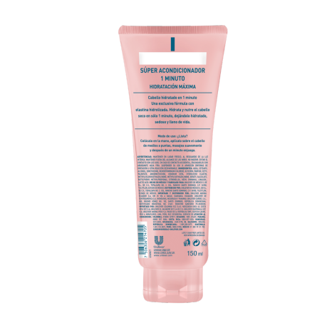 PNG - TUBE_HAIR_SEDAL_BL_SEDAL SUPER AC HIDRATACION_150ML