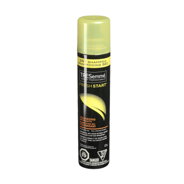A 121 g can of Fresh Start Volumizing Dry Shampoo front of pack image