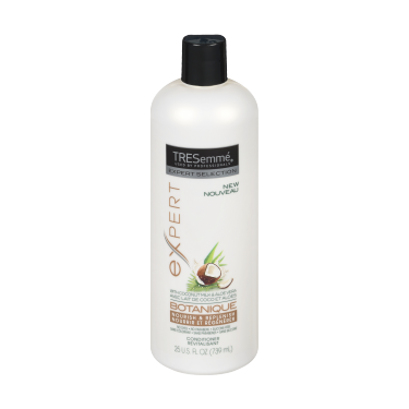 A 739 ml bottle of Botanique Nourish & Replenish Conditioner front of pack image