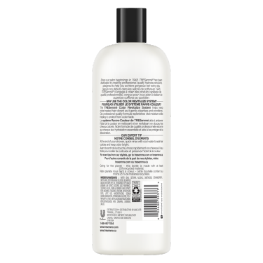A 828 ml bottle of Color Revitalize Conditioner back of pack image