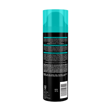 imagen al reverso del paquete - una lata de 6.77 oz TRESemmé Beauty-Full Volume Hair Mousse