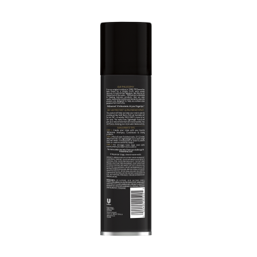 A 11oz can of TRESemmé TRES TWO Ultra Fine Mist Hair Spray back of pack image