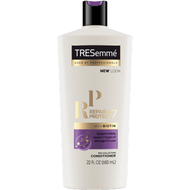 A 22oz bottle of TRESemmé Repair & Protect 7 Conditioner front of pack image