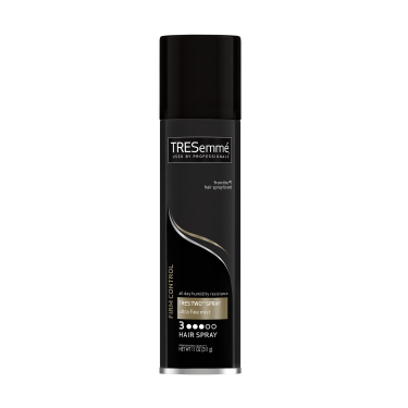 A 11oz can of TRESemmé TRES TWO Ultra Fine Mist Hair Spray front of pack image